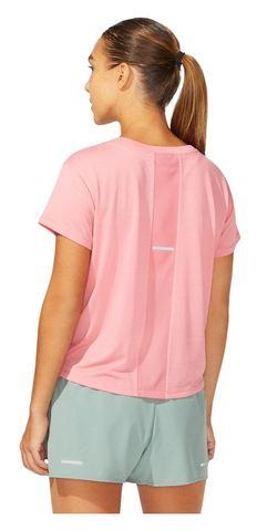 Asics Sakura Ss Crop Top футболка для бега женская розовая