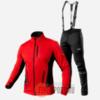 Victory Code Speed Up A2 разминочный лыжный костюм с лямками red - 1