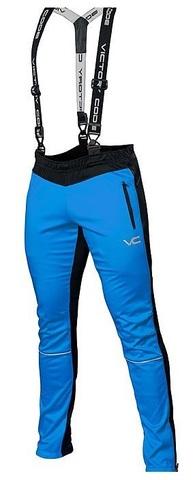Vicory Code Dynamic лыжные брюки-самосбросы с лямками blue