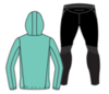 Nordski Jr Run Premium беговой костюм детский Light Breeze - 4