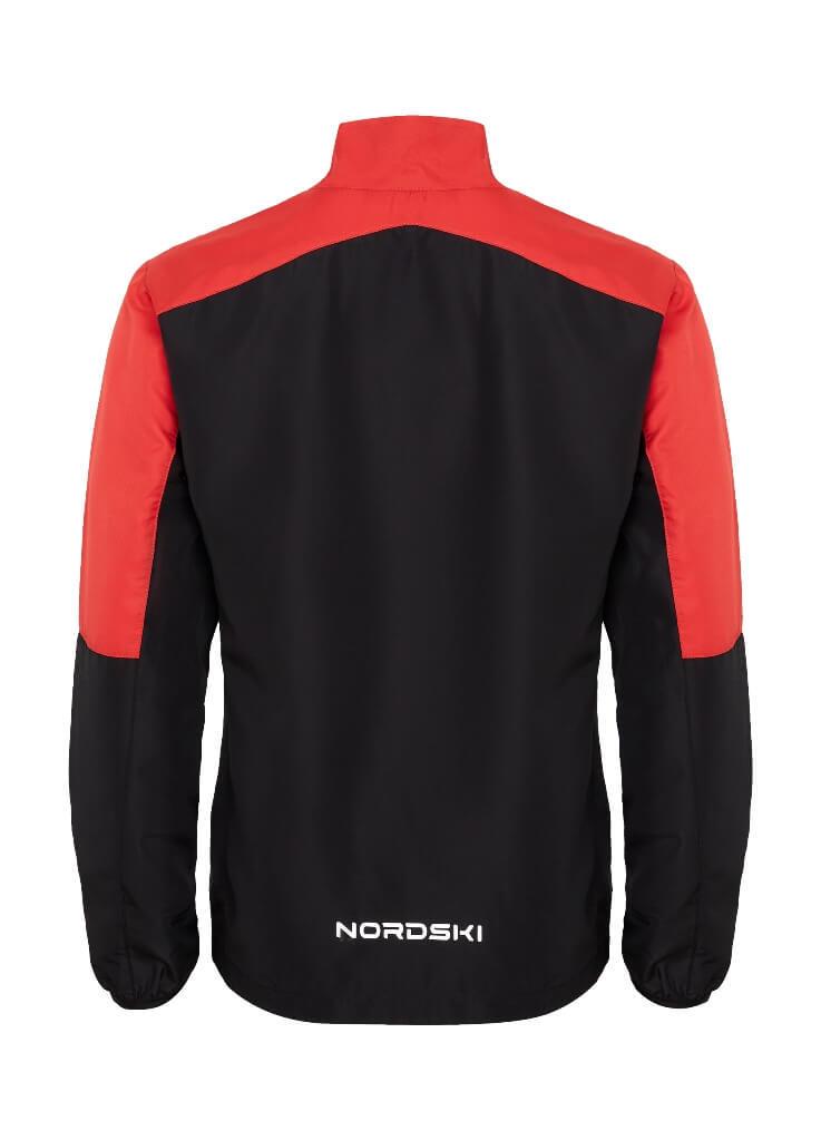 Nordski Sport Elite костюм для бега мужской red-black - 14