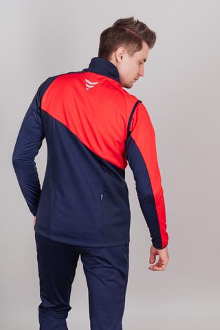 Nordski Premium лыжный костюм мужской blueberry-red