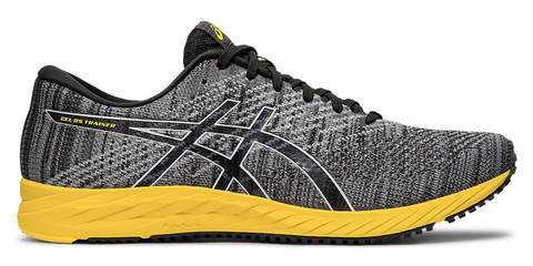 Asics Gel Ds Trainer 24 кроссовки для бега мужские серые-желтые