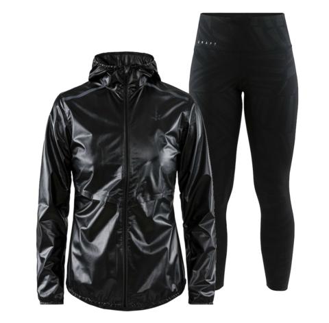 Craft Nanoweight Charge женский костюм для бега черный