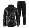 Craft Nanoweight Charge женский костюм для бега черный - 1