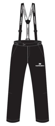 Nordski Premium 2020 прогулочные лыжные брюки мужские black