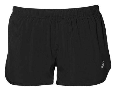 Asics Silver Split Short шорты для бега женские черные