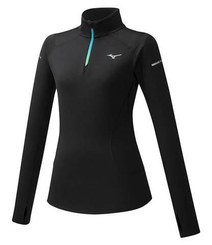 Mizuno Warmalite Hz рубашка женская черная