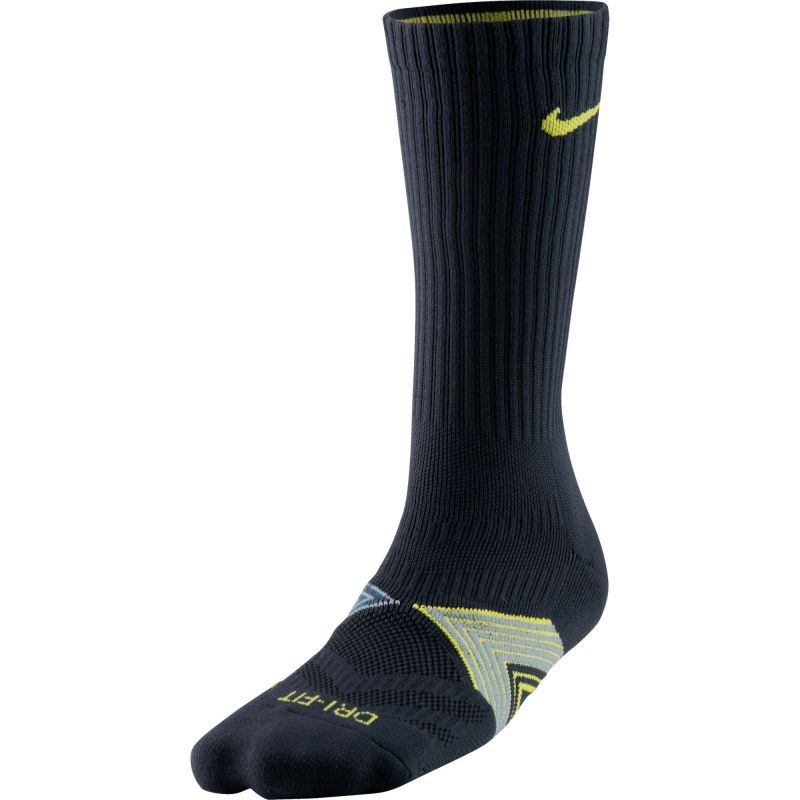 Носки Nike Run Cushioned Support Socks чёрные