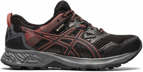 Asics Gel Sonoma 5 GoreTex кроссовки для бега женские черные-красные (Распродажа)