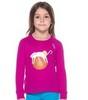 Odlo Warm Trend детская термофутболка с длинным рукавом малиновая - 1