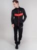 Nordski Base мужской беговой костюм black-red - 1