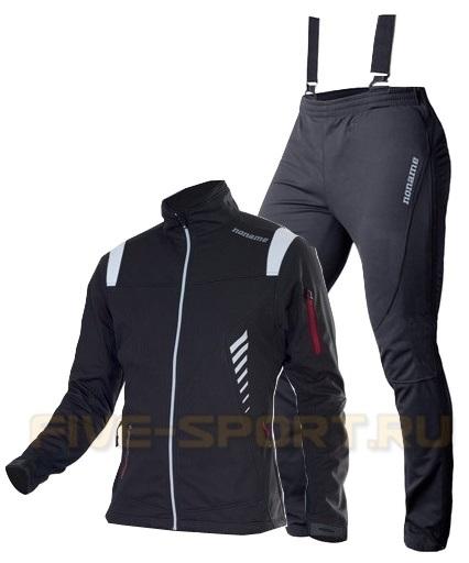 Лыжный костюм Noname Flow in Motion черный
