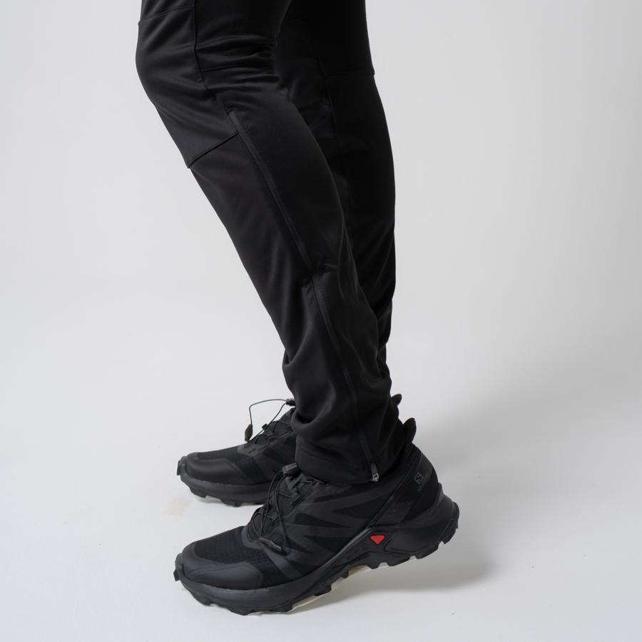 Nordski Base мужской беговой костюм black-red - 14