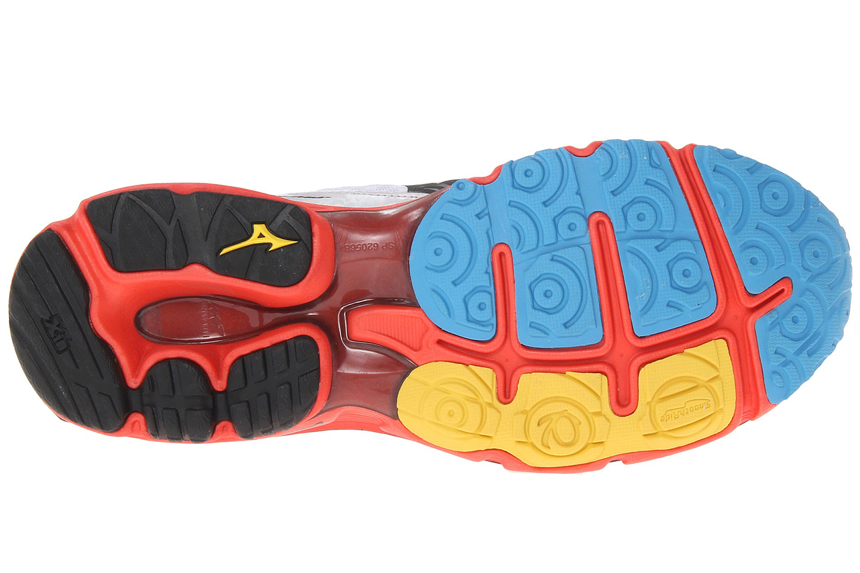 Mizuno Wave Rider 17 Кроссовки для бега мужские белые