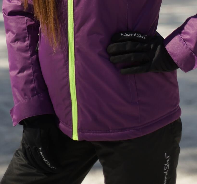 Nordski Jr Arctic Membrane детские перчатки black - 2