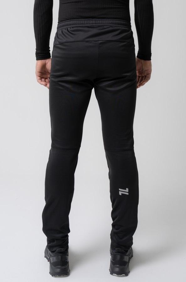 Nordski Base мужской беговой костюм black-red - 9