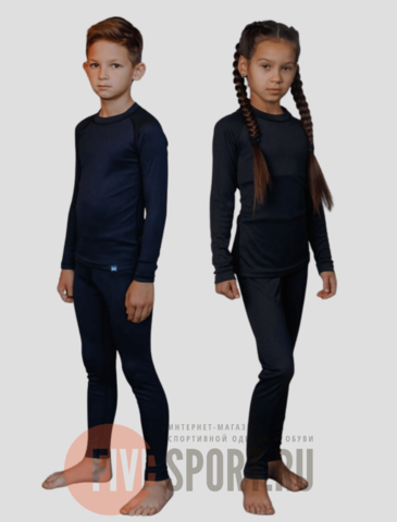 Nordski Kids-Junior Warm комплект термобелья детский night sky