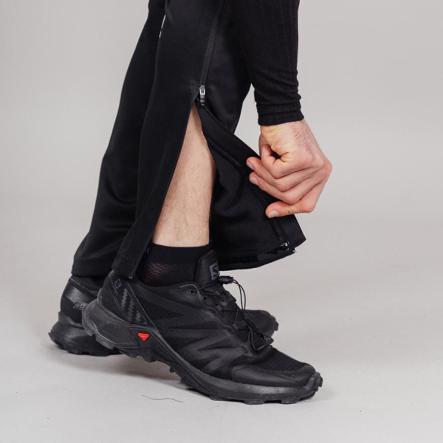 Nordski Base мужской беговой костюм black-red - 15