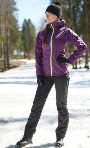 Nordski Motion ветрозащитный костюм женский purple-black