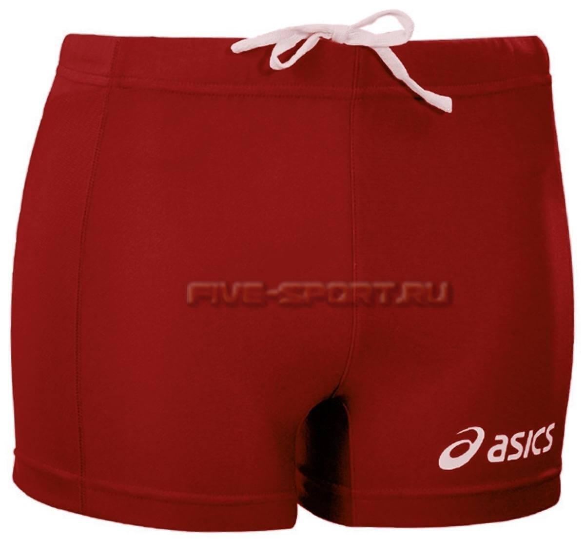 Asics Short League шорты волейбольные женские red