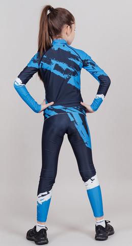 Nordski Jr Premium детский гоночный комбинезон deep blue