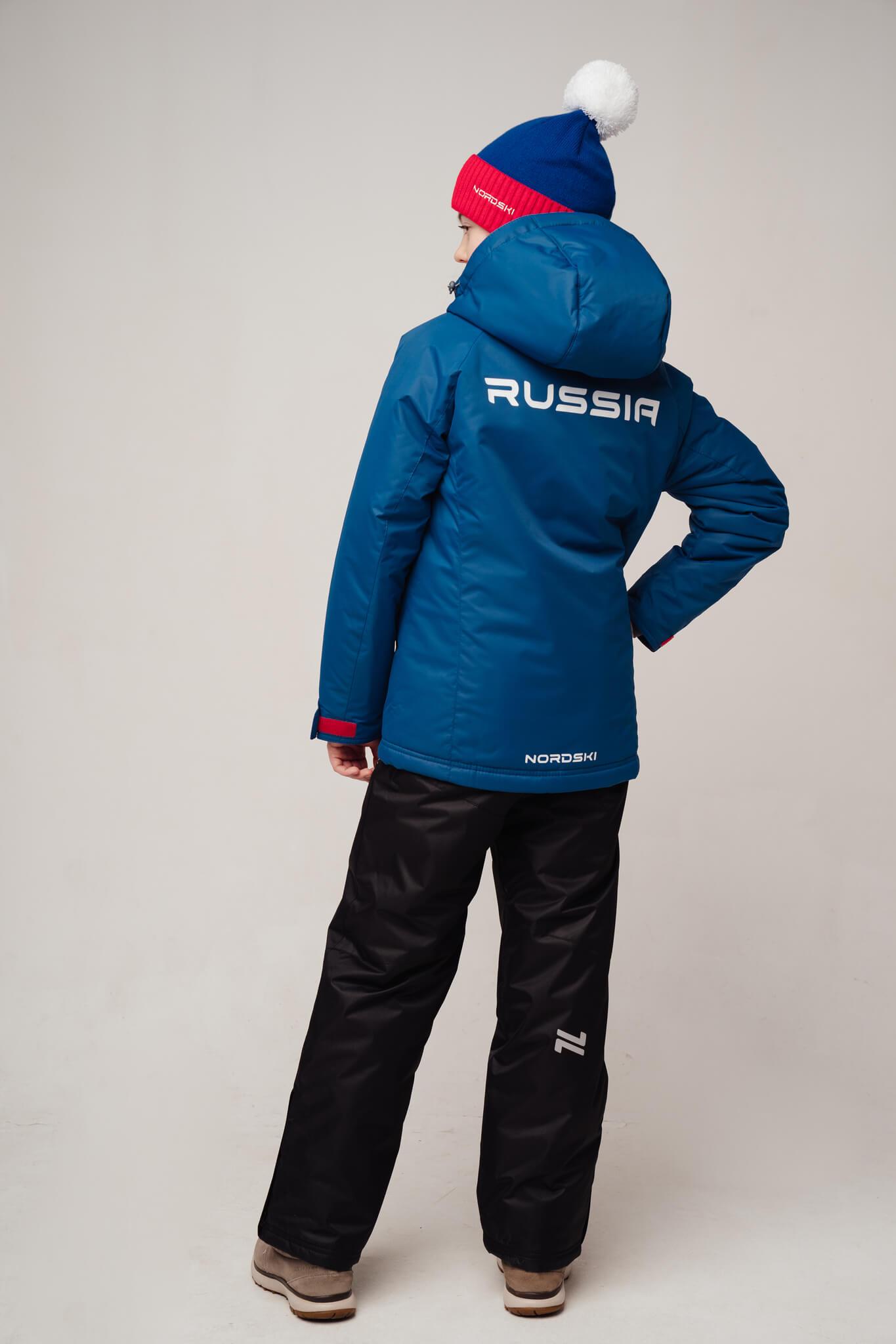 Nordski Jr Motion Patriot утепленная прогулочная лыжная куртка детская - 3