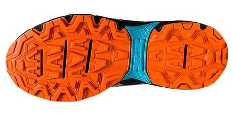 Asics Gel Venture 8 GS кроссовки внедорожники детские синие-оранжевые