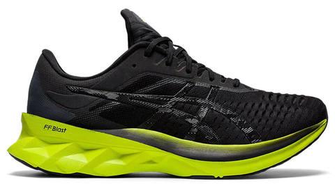 Asics Novablast кроссовки для бега мужские черные-лайм
