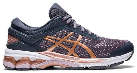 Asics Gel Kayano 26 кроссовки для бега женские серые