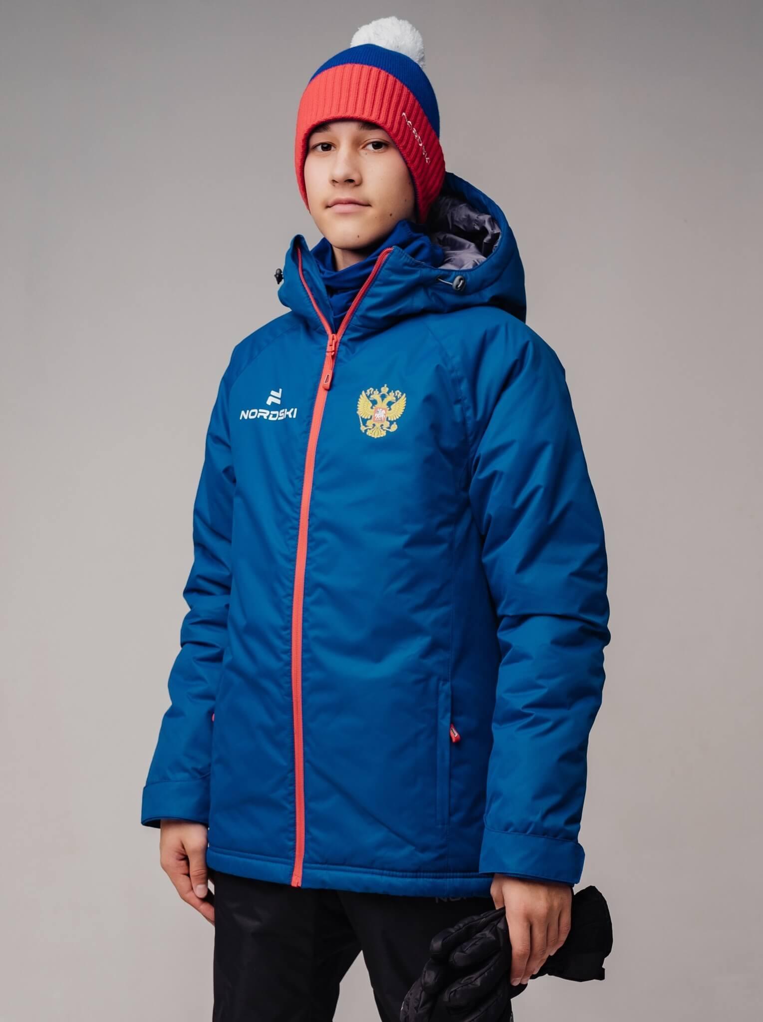 Nordski Jr Motion Patriot утепленная прогулочная лыжная куртка детская - 4