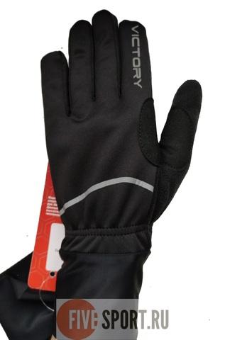 Victory Code A1 перчатки гоночные black