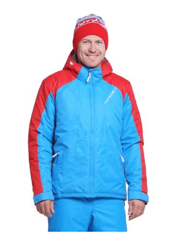 Nordski National мужская лыжная куртка blue-red