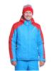 Nordski National мужская лыжная куртка blue-red - 1
