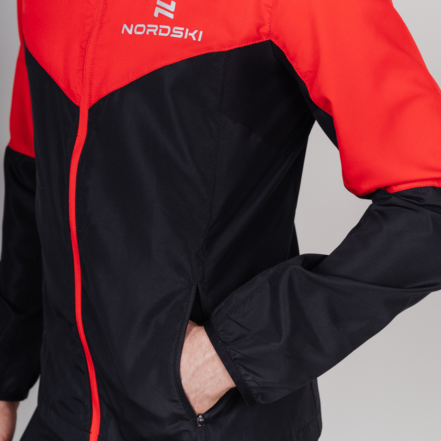 Nordski Sport Elite костюм для бега мужской red-black - 9