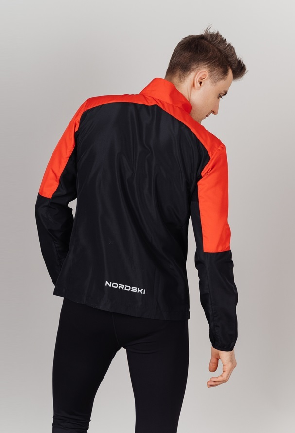 Nordski Sport Elite костюм для бега мужской red-black - 3