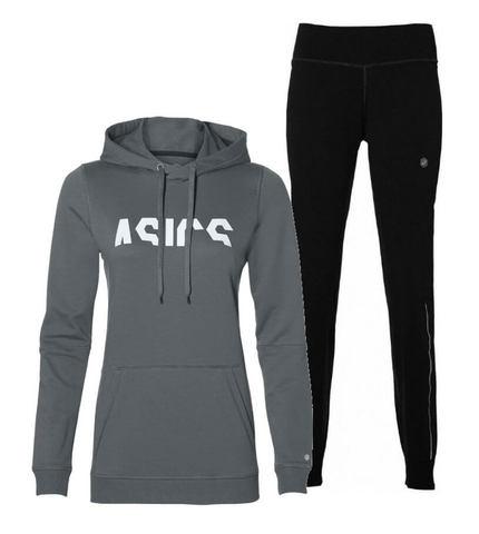 Asics Esnt Knit беговой костюм женский grey-black