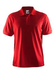 Футболка-поло мужская Craft Pique red
