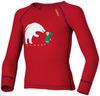 Odlo Warm Trend детская термофутболка с длинным рукавом красная - 1