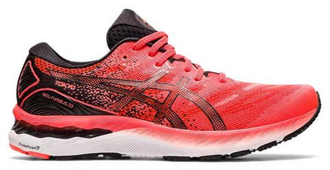 Asics Gel Nimbus 23 Tokyo кроссовки для бега мужские черные-красные