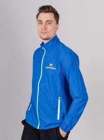Nordski Motion Premium костюм для бега мужской Vasilek-Yellow