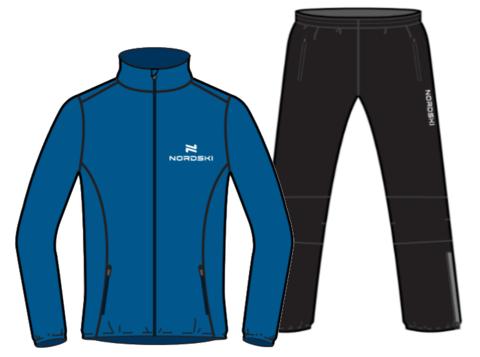 Nordski Motion Premium беговой костюм мужской Vasilek