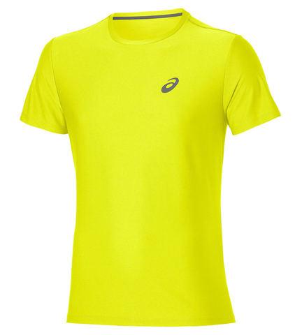 ASICS SS TOP мужская беговая футболка желтая