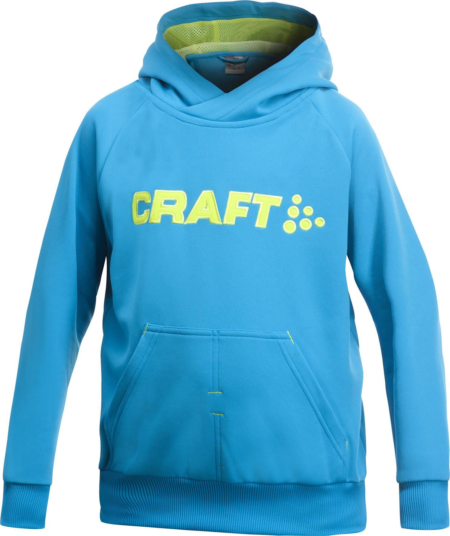 Толстовка Craft Flex Hood детская blue
