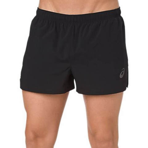 Asics Silver Split Short мужские шорты для бега черные