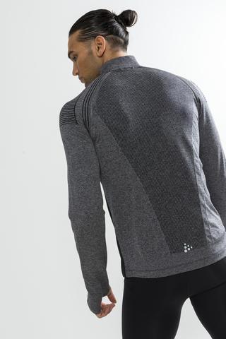Craft Urban Run Fuseknit мужской костюм для бега черный-серый