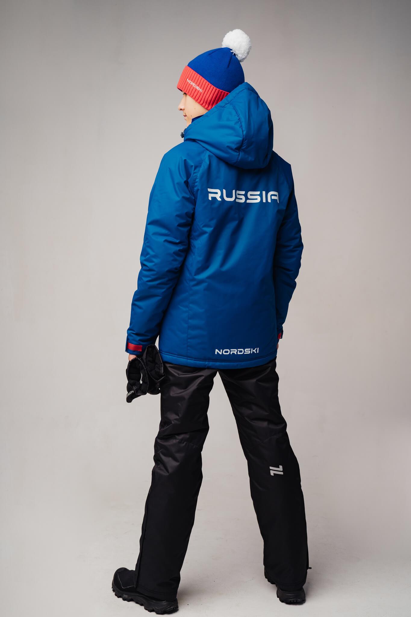 Nordski Jr Motion Patriot утепленная прогулочная лыжная куртка детская - 6