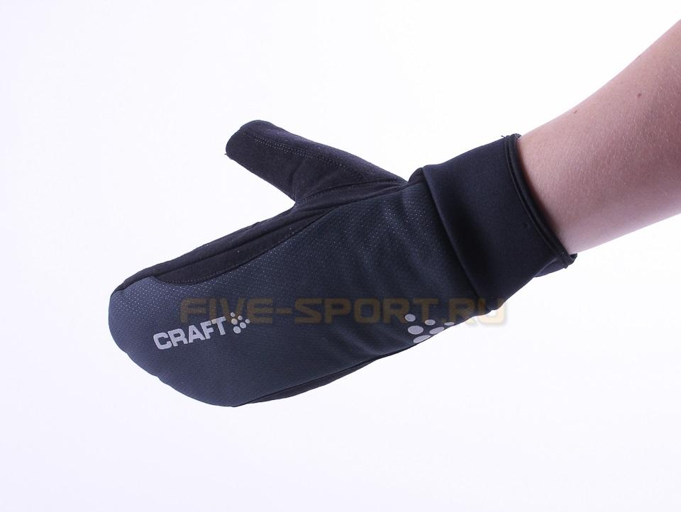 Варежки Craft Active чёрные - 2
