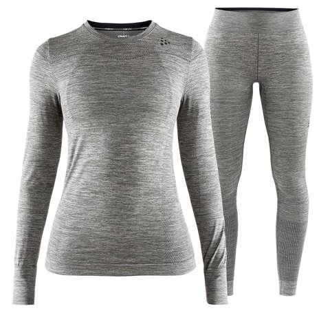 Craft Fuseknit Comfort комплект термобелья женский grey