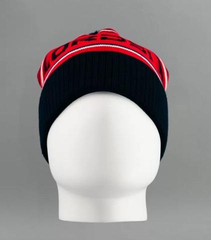 Nordski Stripe теплая шапка red